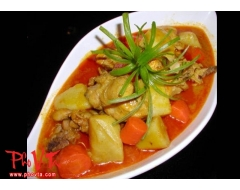 Com Cari Ga - Chicken curry rice