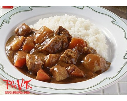 35. Com Cari Bo - Beef curry rice