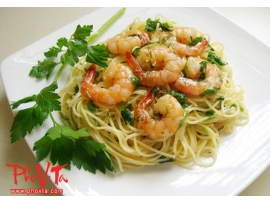 Mi Xao Tom - Shrimp chow mein
