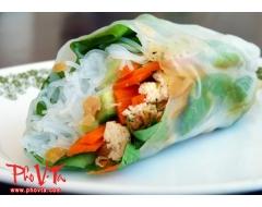Tofu Salad Rolls (2 rolls)