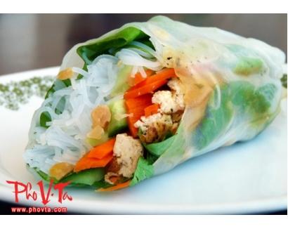 40. Tofu Salad Rolls (2 rolls)