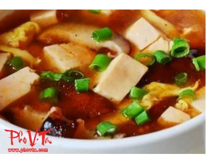 41. Hot n' Sour Tofu Soup