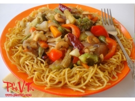 Vegetarian Fried Noodles