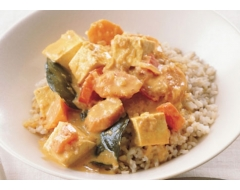 Curry Tofu With Rice