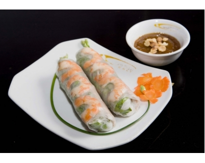 2. Goi Cuon (2 rolls)