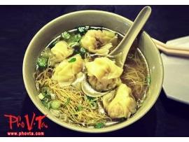 Wonton in noodle soup