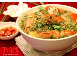 Canh Chua Tom - Shrimp hot n'sour soup