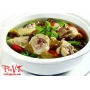 Canh Chua Ga Chicken hot n'sour soup