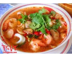 Canh Chua Do Bien - Seafood Hot n'Sour Soup