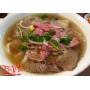Pho tai, nam - Rare beef slices and brisket