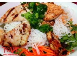 Bun Ga Nuong - Vermicelli with grilled chicken