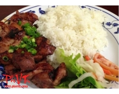 Com Suon - Pork chop on rice