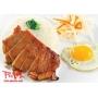 Com Suon, Trung -  Fried egg and pork chop on rice